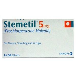 Buy Stemetil 5mg Tablets-Buy Stemetil Without Prescription-Buy Prochlorperazine Online